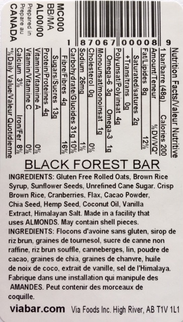 Black Forest info