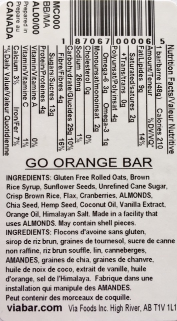 Go Orange info