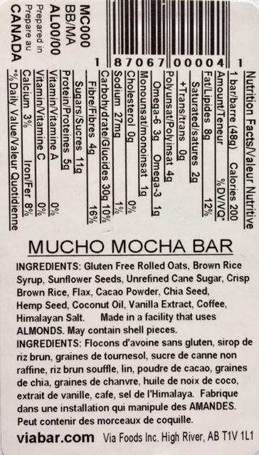 Mucho Mocha info